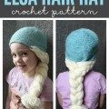 Is your daughter obsessed with Frozen? What better way to complete an Elsa costume than with an easy DIY craft? This DIY Disney Frozen Elsa hair crochet pattern will make a hat she'll never want to let go of.