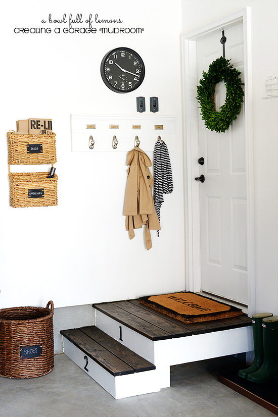 Entryway storage solutions for Garage mudroom designs