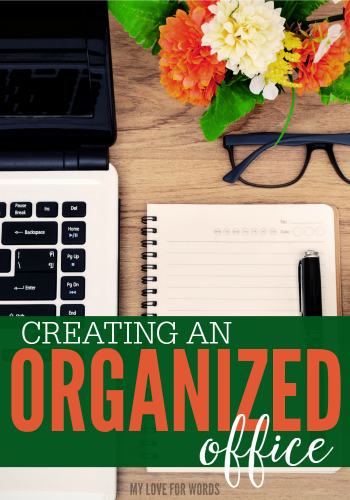 I used to say I had a messy desk because I'm a creative soul, but the truth is that I just have really bad habits. Instead of trying to work amid the chaos, I'm going to declutter and organize my office in hopes of becoming more efficient and less stressed.