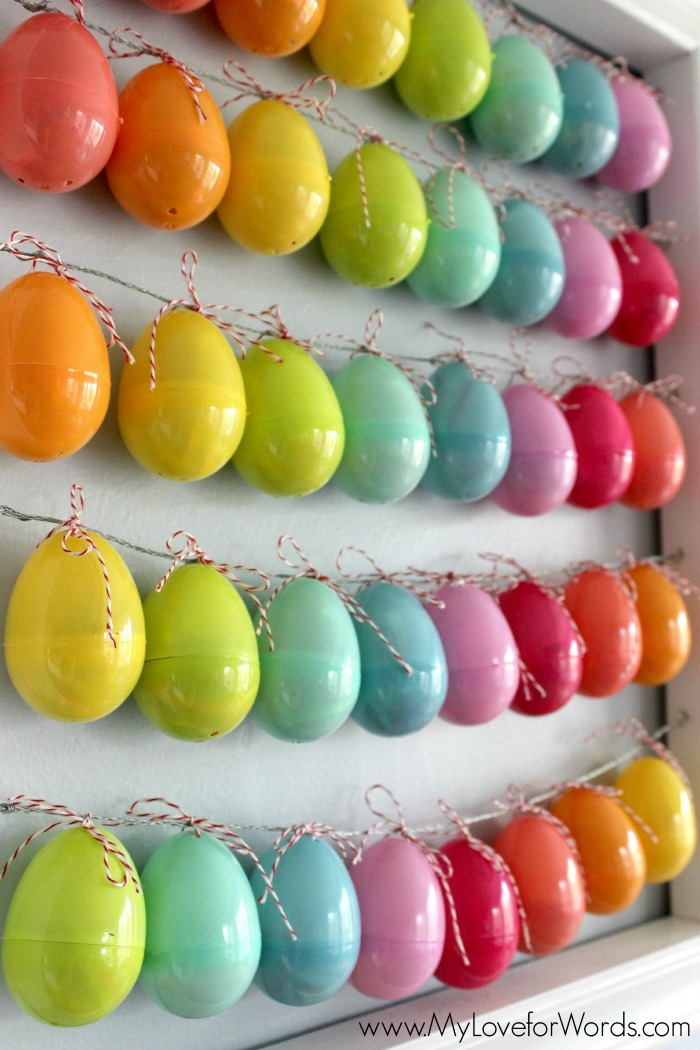 Countdown to Easter with this adorable Easter egg countdown. Each egg is filled with either a fun activity or a person to pray for. Free printables for prayer requests and activities are included in the post!