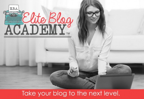 Ever thought about starting a blog? Want to learn how to grow the blog you currently have? You need the Elite Blog Academy. Since I enrolled my pageviews have QUADRUPLED! Sign up now! Enrollment's only open for one week and then the doors will be closed until 2016. Don't wait a whole year to take your blog to the next level!