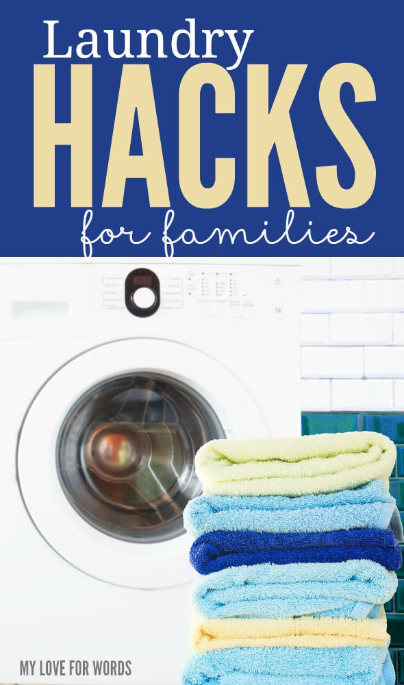 These laundry hacks for families are great for creating a more simple routine and avoiding laundry mountains from forming.
