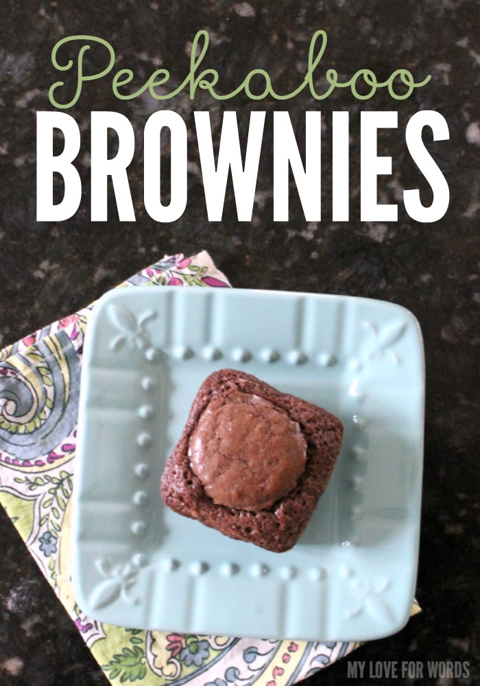 Peekaboo Brownies green