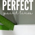 Painting is one of the easiest and fastest ways to transform a room, but only if it's done well. This is my secret to creating perfect paint lines.