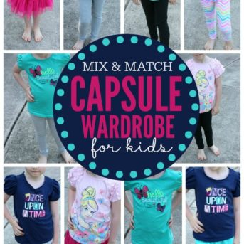 Sick of being knee deep in laundry? Creating a capsule wardrobe may be the answer you've been looking for. This is an easy tutorial on how to create a capsule wardrobe for kids.