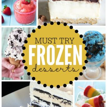 If you have a sweet tooth, look at this now and thank me later! These frozen desserts are definitely going on my must try list.