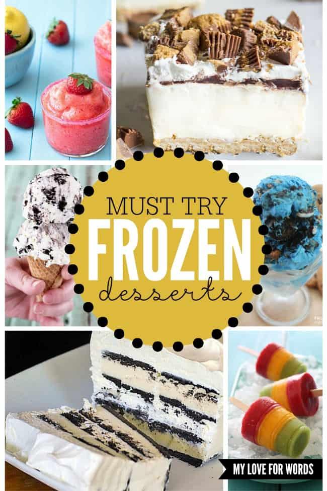 Must try Frozen desserts