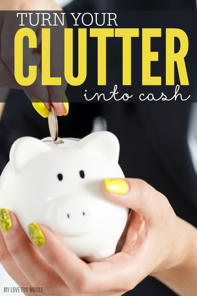 Turn your clutter into cash main image