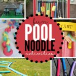 Have fun this summer with these fun pool noodle activities. Who knew everyone's favorite pool toy was so versatile?!