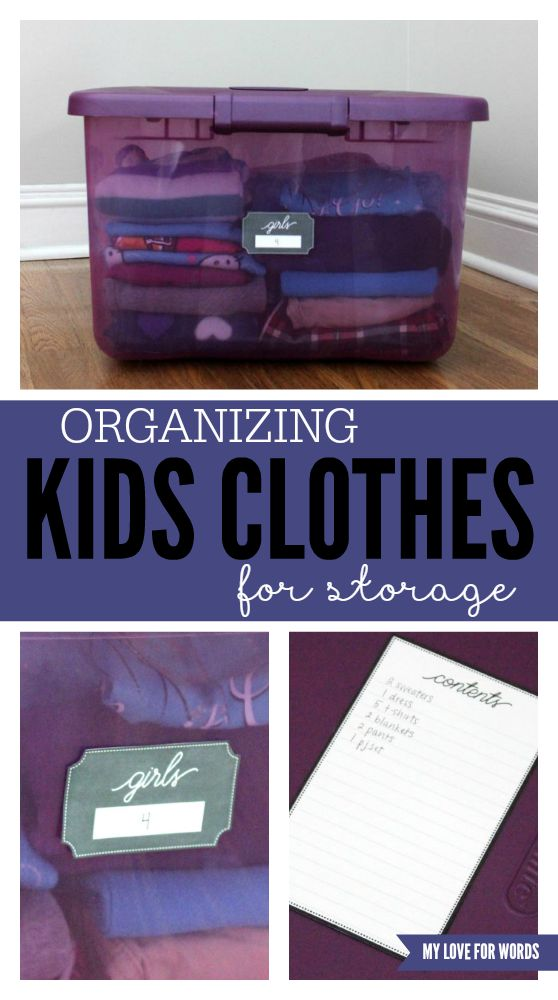 I love these free printables labels! They're perfect for organizing kids clothes and hand me downs for storage. Now I'll never have to wonder where something is because I'll actually be able to find it!