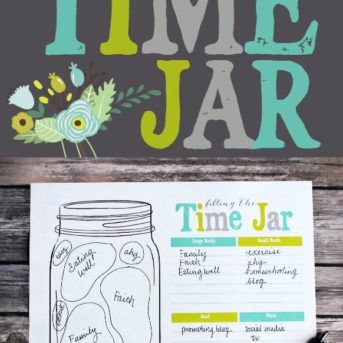 Filling the time jar: why you need to write down your priorities