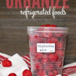 This is, by far, the easiest way to organize refrigerated foods!