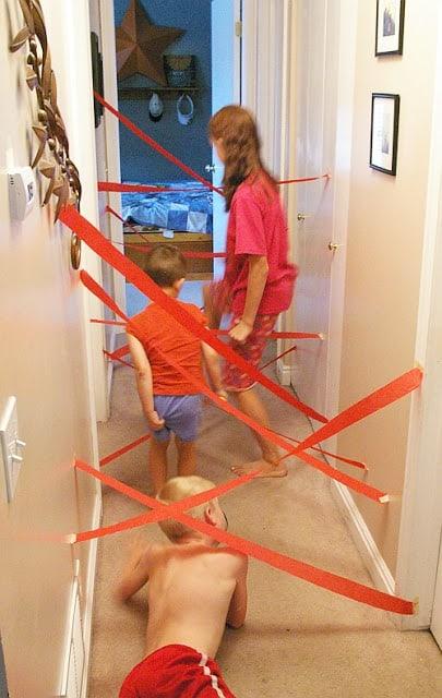 indoor activity maze