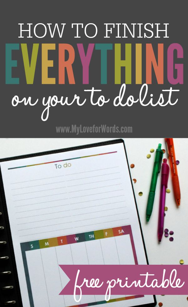 TOL to do list freebie 5