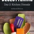 Do you feel like your home's full of clutter, but you don't know how to tackle the mess? Join the 31 Days of Decluttering and take small steps towards big progress.