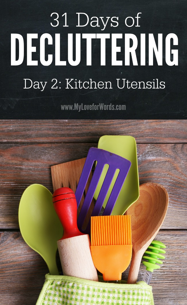 31 Days of Decluttering Day 2