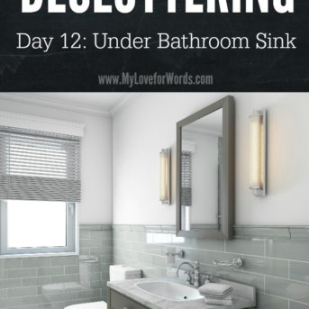 Surrounded by clutter? Want an organized home, but you don't know where to start? Join the 31 Days of Decluttering challenge and start working towards the home you really want.