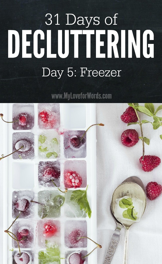31 Days of Decluttering day 5b