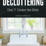 Join the 31 Days of Decluttering challenge and starting creating the home and life you want and deserve.