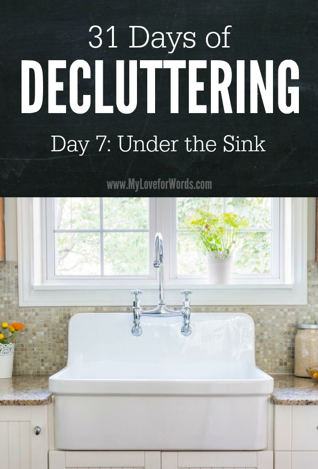 31 Days of Decluttering day 7