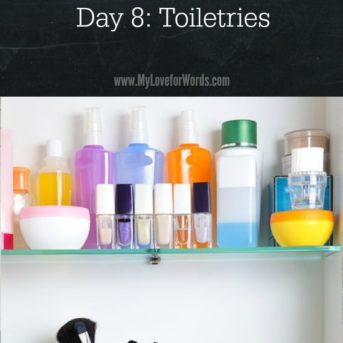 Feel like you're drowning in clutter? Wish your home was organized? Join the 31 Days of Decluttering challenge today and get the home you deserve!