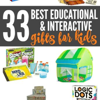 So many great original, educational, and active gift and toy ideas for kids! STEM and STEAM gifts, arts and crafts, nature gifts, and games.