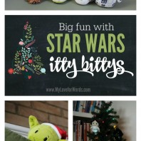 Looking for the perfect stocking stuffer for your Star Wars fan? Check out these adorable Star Wars itty bittys from Hallmark! They can also be used as Christmas ornaments or to create a fun countdown in anticipation of the new movie's release. Too cute!