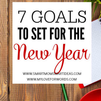 A New Year is a blank slate. Start this year on the right foot with these 7 Goals to set for the New Year.