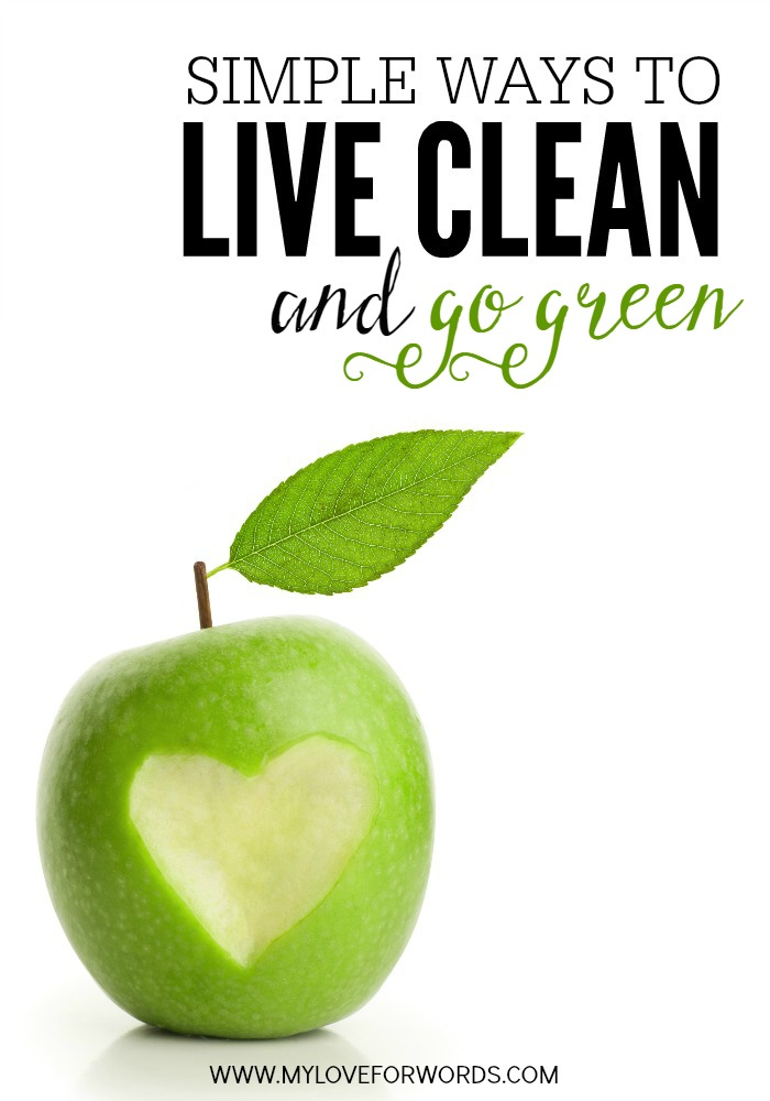 Simple ways to live clean and green.