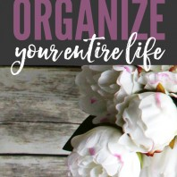 Trying to get organized if pointless if this one thing isn't at the top of your list. If you're able to organize this one thing you can organize your entire life!