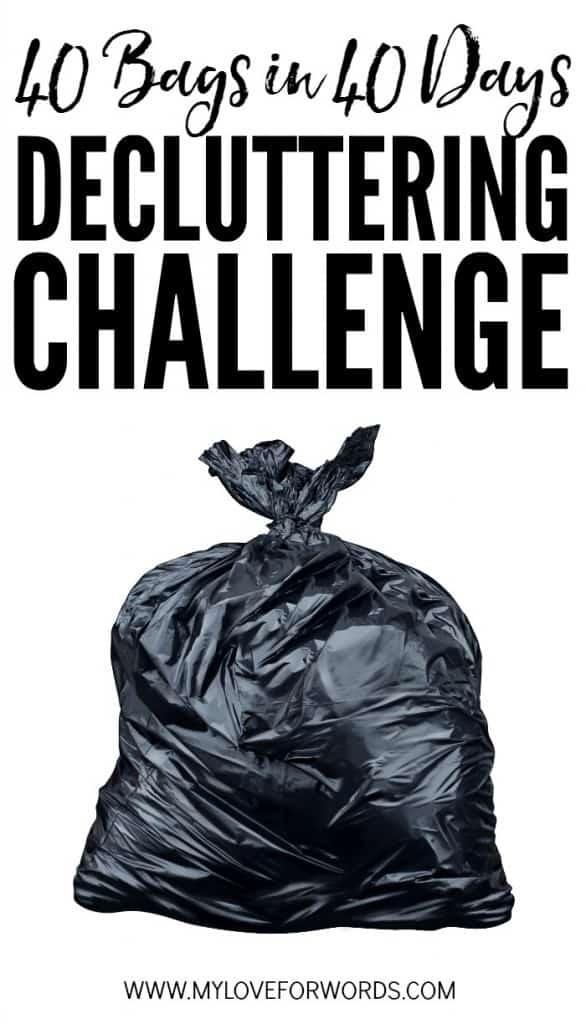 40 bags in 40 days decluttering challenge 700x1224
