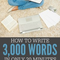 This is the ultimate writing hack! If you're working on a blog, e-book, or the next great piece of classic literature, this trick is sure to help you get your thoughts on the page and write faster than ever before. You'll be able to complete in just minutes what would've taken you hours before. It's a game changer for sure!