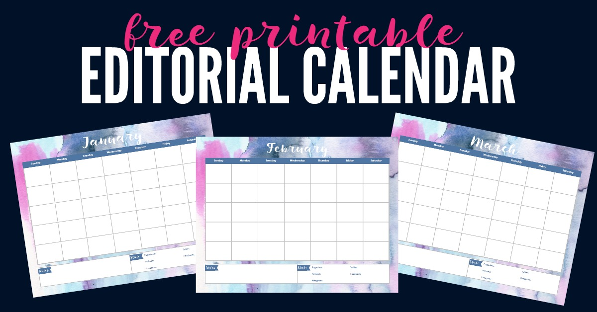 3 Reasons Successful Bloggers Use Editorial Calendars And Free