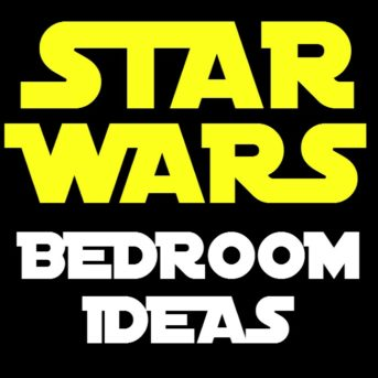 Creating a bedroom design plan for a teenage boy isn't easy. They aren't quite grown up, but they aren't little anymore either. I tried to create a good balance between his current interests and versatile pieces that can stand the test of time. I hope he loves his new Star Wars bedroom surprise makeover!