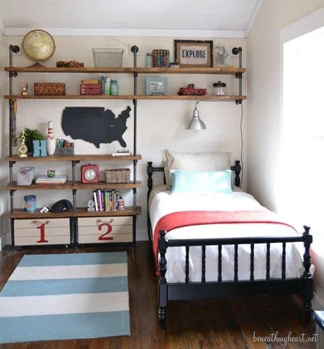 Inspiring Bedroom Ideas for Teenage Boys on Teenage Bedroom Ideas Boy Small Room  id=48122