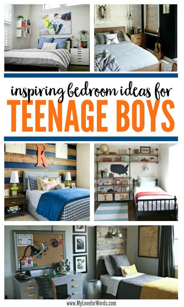 inspiring bedroom ideas for teenage boys