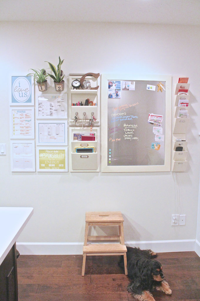 Command Center Inspiration To Finally Get Organized
