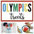 These easy and adorable DIY Olympic Treats are the perfect way to celebrate the Olympics!