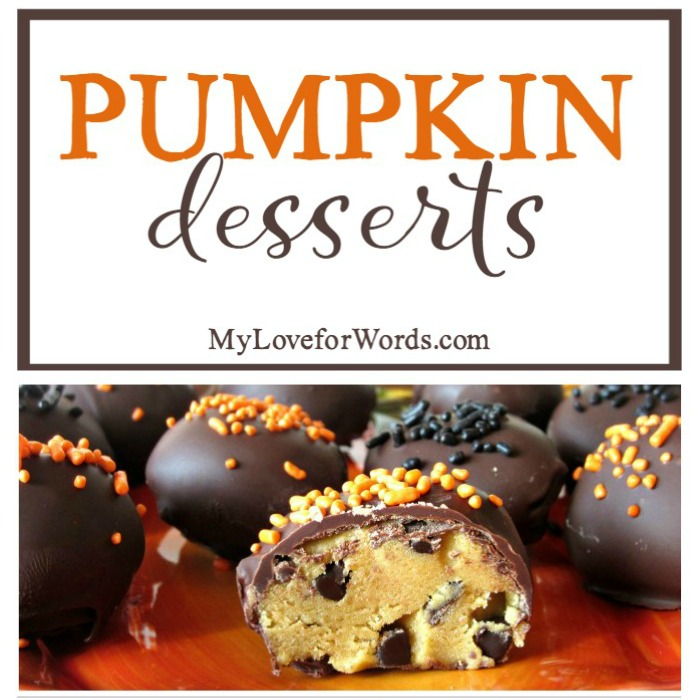 Fall is the perfect time of year to enjoy pumpkin recipes. Whether you're looking for a recipe that's easy, healthy, or a little more fancy and complicated, there's a sweet treat for every palate. Pumpkin cookies, cheesecake, pudding, ice cream, pie, cake, and more!
