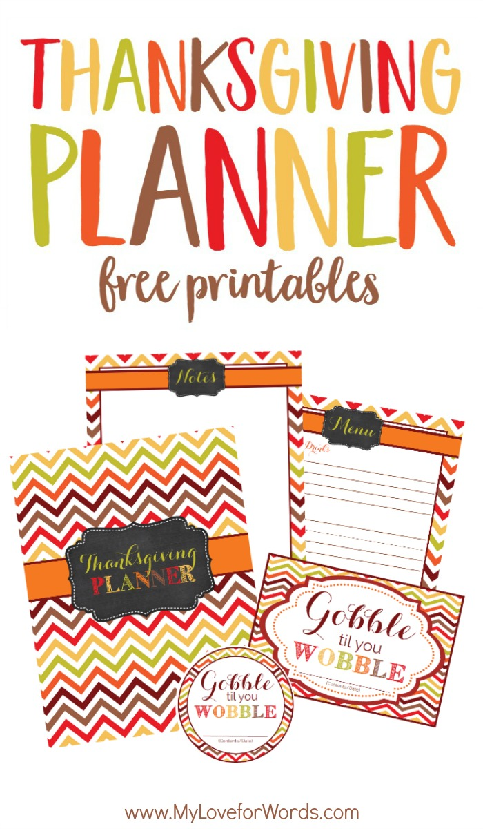Free Printable Thanksgiving Planner to Make Meal Planning