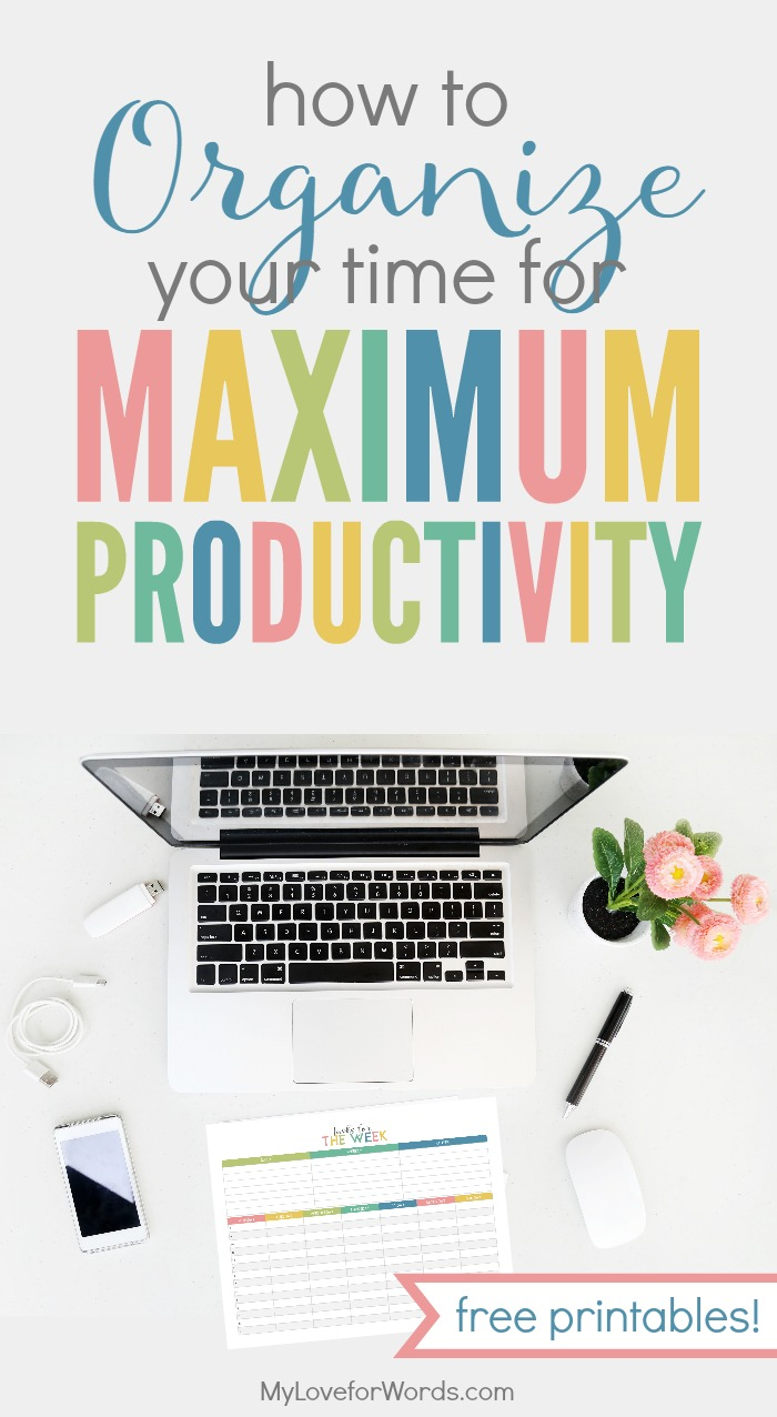 FREE PRINTABLES!! I love using these printables to maximize my productivity and get more done! Now nothing's falling through the cracks.