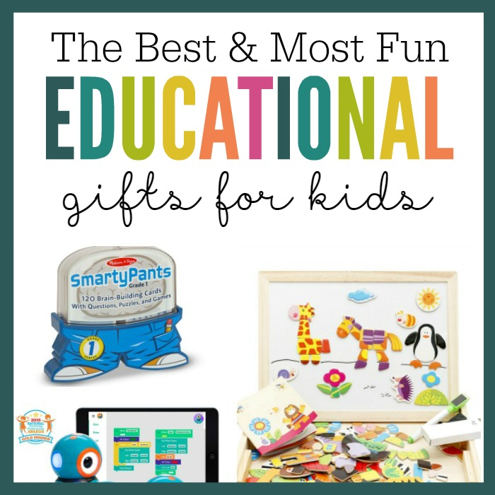 The most fun and educational gifts for kids! Whether you're looking for a present for a birthday, holiday, Christmas, or just because, these unique and creative gift ideas are sure to please even the kids who have everything! They're also a great way to squeeze in a little learning when school isn't in session. Great ideas for girls and boys!