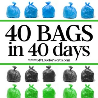 40 Bags in 40 Days: 2017 Edition
