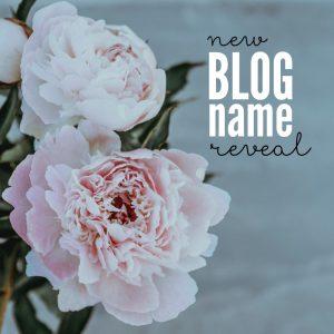 New Blog Name Revealed
