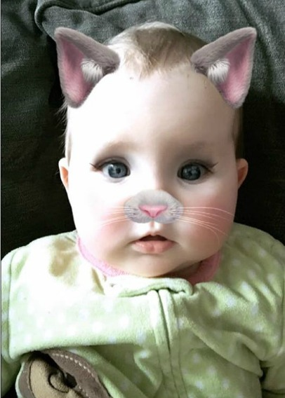 Ella kitty face cropped