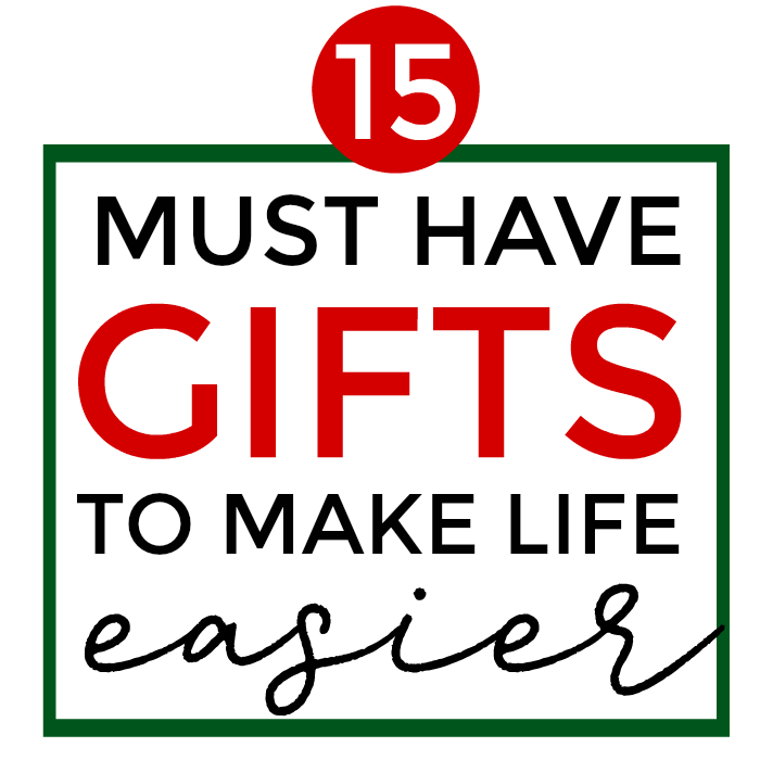 This year, I don't want to just give people more stuff for the sake of having something to unwrap. I want to give meaningful gifts that will help to improve the lives of those I love. How great would it be to give the gifts of an easier life and more free time? With these things, I think we can! These are the must-have Christmas gifts to make life easier. #ChristmasGiftIdeas #Christmasgifts #gift
