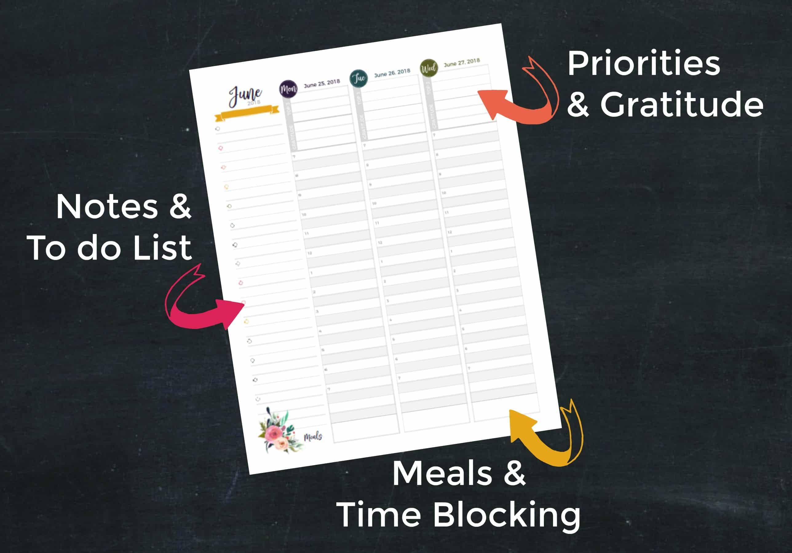 #planner #printablecalendar #goals #2018 #calendar #printables #organization