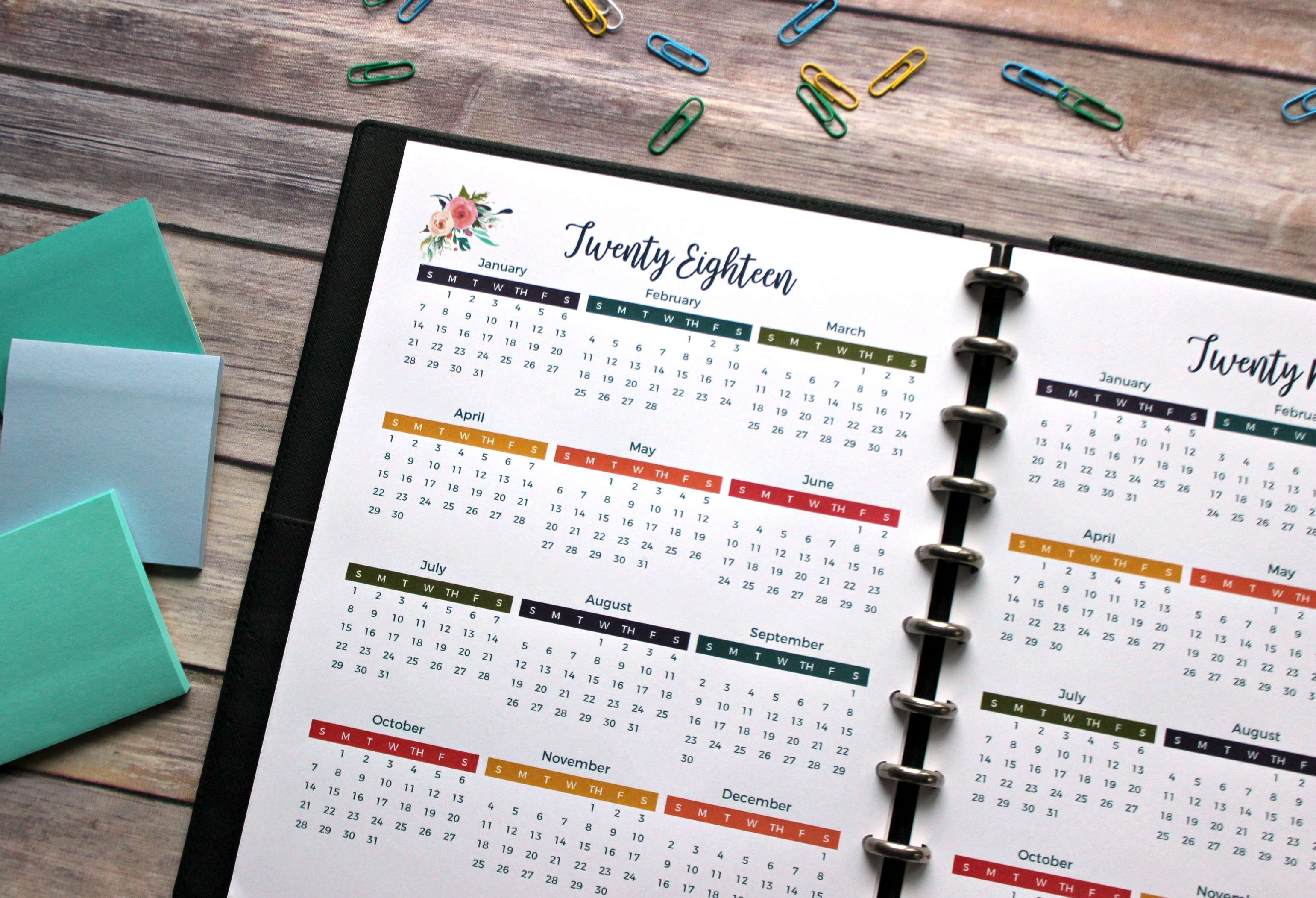 Make 2018 your BEST YEAR EVER!! Setting goals and being intentional with your time can make all the difference between having a blah year and a great one! Enter to win this 2018 planning and goal setting bundle, and have your best year ever! One lucky winner will win: a printable 2018 planner, printable goals workbook, and membership to the exclusive goal setting masterclass and goal achieving community so you'll get the guidance, support, and inspiration you need to make 2018 on for the books! #planner #printablecalendar #goals #2018 #calendar #printables #organization