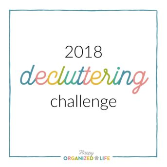 Ever feel overwhelmed or embarrassed by your home because you have too much clutter? Take charge of your home with the 2018 decluttering challenge! We'll spend 13 weeks working through our homes together to create spaces we love and feel comfortable in again.