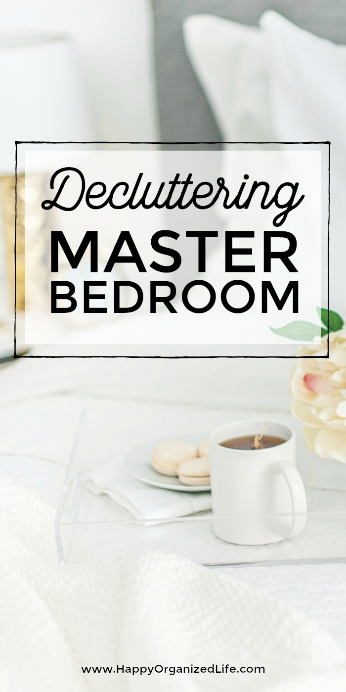 13 weeks may be all that's standing between you and an organized home! Join the free decluttering challenge, and create the clean, organized, beautiful home you want and deserve. Week 1: Decluttering the Master Bedroom